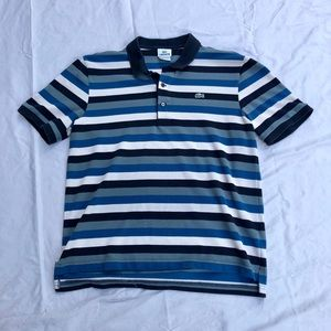 Men's Lacoste striped Polo